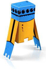 Free Designer Paper Toys
